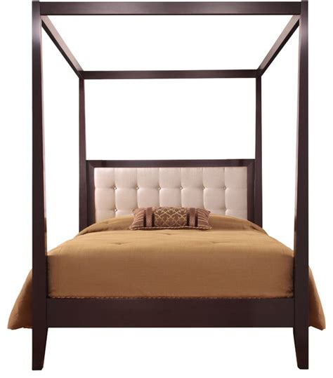 canopy platform bed stickley uptown tall post platform bed w canopy 7622