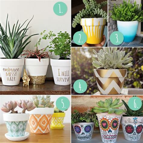 homemade flower pots ideas 10 more diy flower pot painting ideas blog photos and
