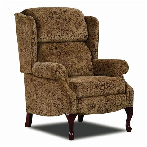 queen anne recliners clearance lane hi leg recliners 2528 traditional savannah hileg