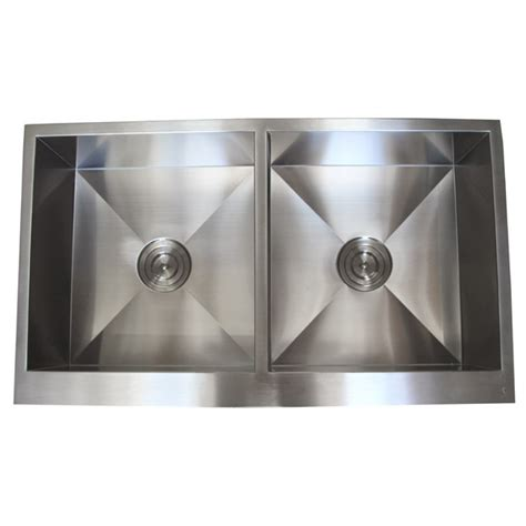 50 inch double sink 36 inch stainless steel flat front farmhouse apron kitchen