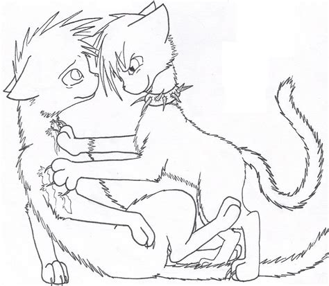 warrior cat scourge coloring pages more information