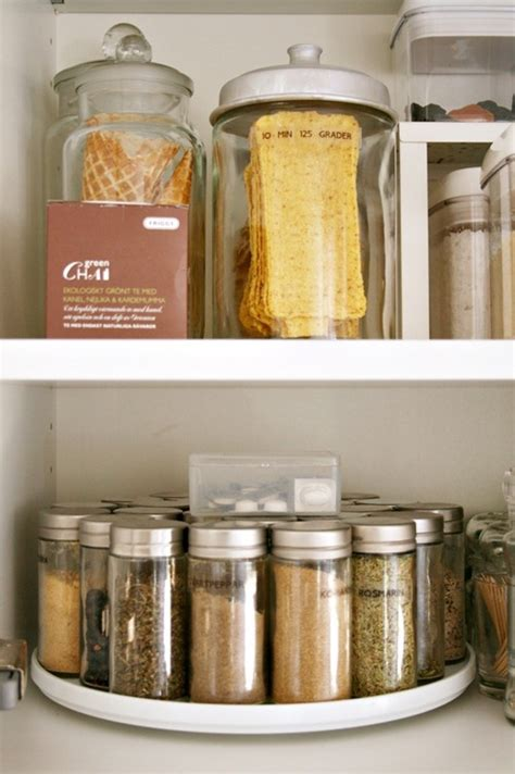 diy lazy susan spice rack 11 clever and easy kitchen organization ideas you ll