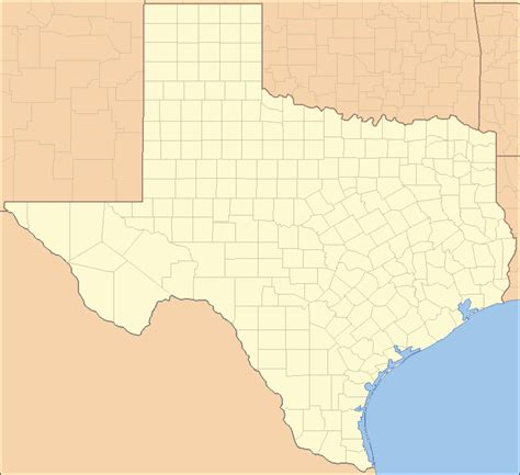 texas county locator map list of counties in texas