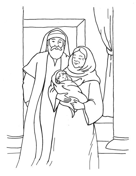 coloring page zechariah 88 coloring page zechariah zechariah and elizabeth