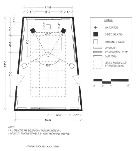 floor plans for small recording realtraps maximum studio