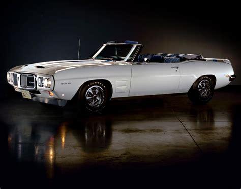 pontiac firebird trans  ram air iii convertible  rarest muscle cars