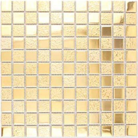 Ceramic Mosaic Tile Gold Porcelain Tile Square 1 Quot Glaze Ceramic Mosaic Plating