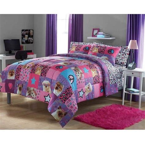 your zone comforter set princess puppy kitten walmart com