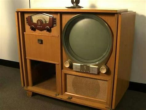vintage tv stereo cabinet zenith console tv radio vintagelove entertainment and