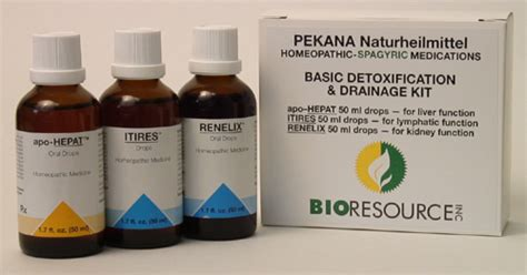 Neuro Detox by Pekana Homeopathic Spageric Remedies For Detoxification