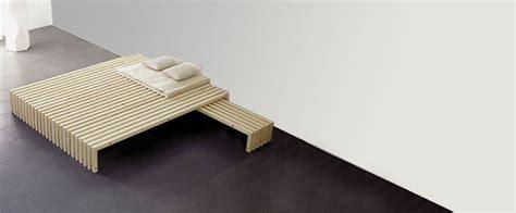 bett ohne lehne bett futon lattenrost tatami und futon kokos