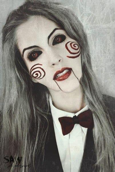 imagenes de halloween mujeres resultado de imagen para maquillaje de halloween saw mujer
