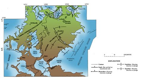 map of oregon earthquake fault lines living with earthquakes in the pacific northwest