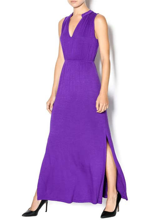 Purple Maxi Dress delicious purple maxi dress from michigan by humanity