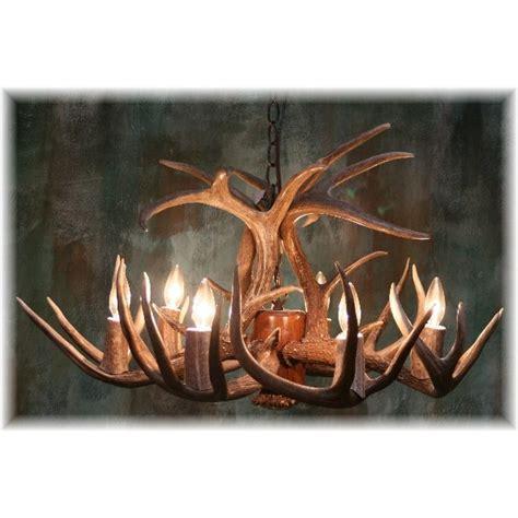Hidalgo Whitetail Antler Chandelier 22 Antler 8 Light Light Deer