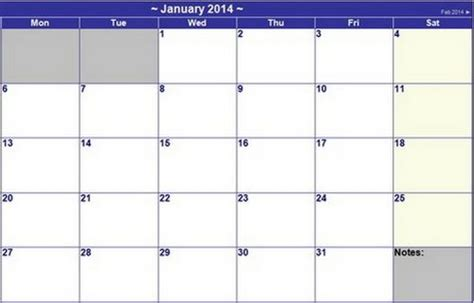 plain calendar template 15 free printable 2014 calendar templates xdesigns
