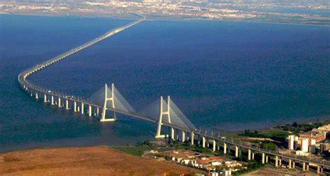 ponte vasco da gama as 10 maiores pontes do mundo gigantes do mundo
