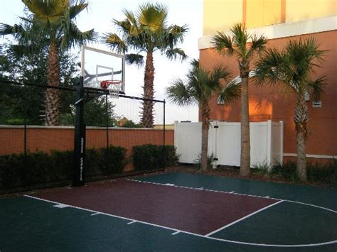 Apartments In Orlando With Indoor Basketball Courts Micky Waffle Machiene Picture Of Homewood Suites By