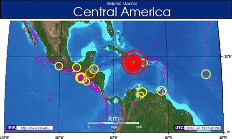 america earthquake map iris data services newsletter volume 12 no 1