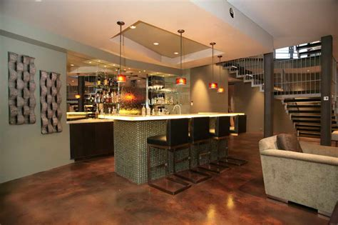basement bar ideas modern bloombety bar designs with modern chairs bar