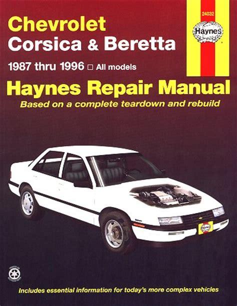 motor repair manual 1996 chevrolet s10 free book repair manuals chevy corsica chevy beretta repair manual 1987 1996 haynes