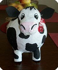 How To Make A Paper Mache Cow - paper mache on 332 pins