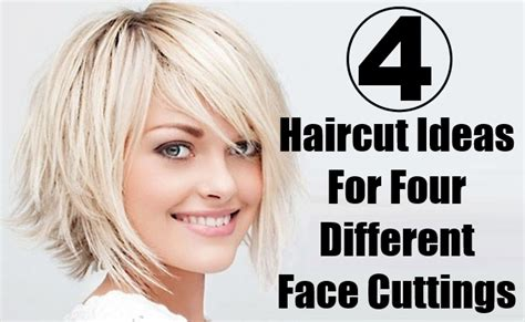different ideas 4 different haircut ideas for four different cuttings
