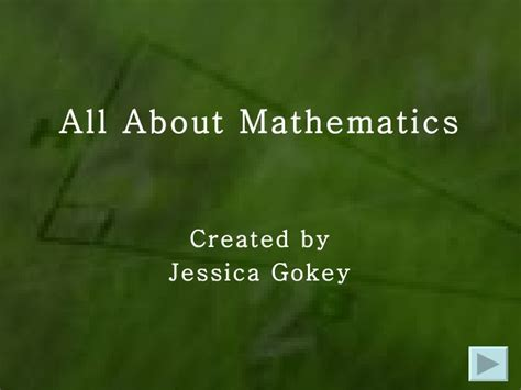 a presentation on mathematicians ppt project math