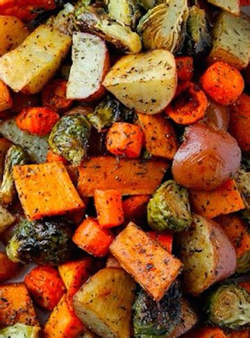 fall vegetables roasted fall vegetables recipe