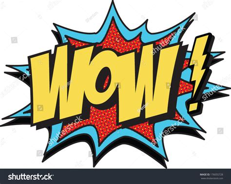 wow new stock vector 176055728 shutterstock
