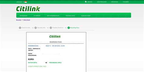 citilink garuda web check in cara web check in citilink 171 jaranguda com