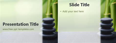 zen stones ppt template