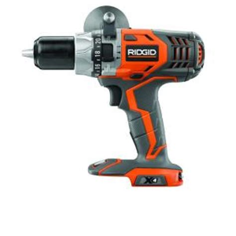 ridgid 18 volt x4 hammer drill console tool only