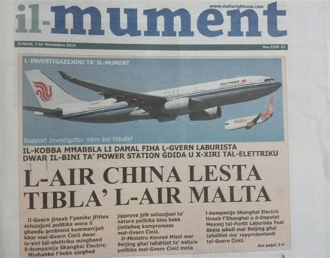 False Reports On by Tourism Minister Dismisses False Reports On Air Malta S China Takeover Maltatoday Mt
