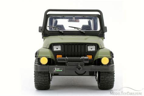 Jeep Wrangler Toys 1992 Jeep Wrangler Green 98081wa 1 24 Scale