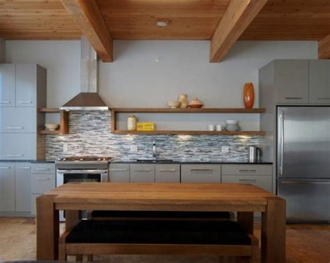 one wall kitchen with island one wall kitchen with island designs jha home pinterest