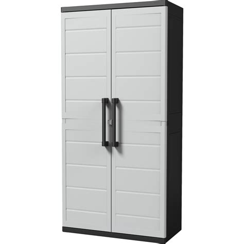 plastic garage storage cabinets keter xl plus heavy duty plastic storage cabinet buy