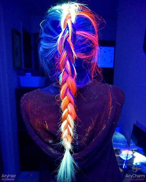 glow in the hair color the best of glow in the neon hairstyles