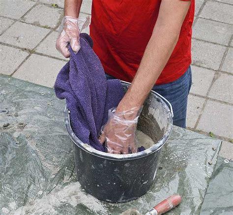 fiori di stoffa come realizzarli vasi fai da te in quot stoffa quot e cemento come realizzarli
