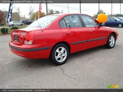 2004 hyundai elantra gt specs 2004 hyundai elantra gt sedan in rally photo no