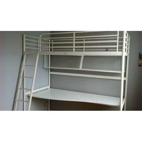 Lit Mezzanine Avec Bureau Ikea Achat Et Vente Lit Mezzanine Avec Bureau