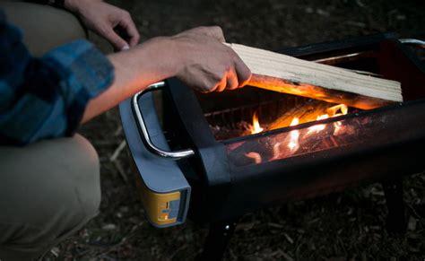 smokeless pit biolite firepit smokeless wood pit 187 gadget flow
