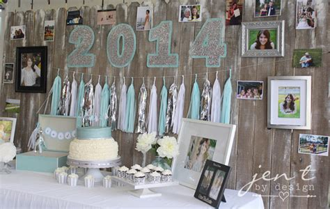 Graduation Decoration Ideas by Stylish Ideas For A Graduation Jen T By Design