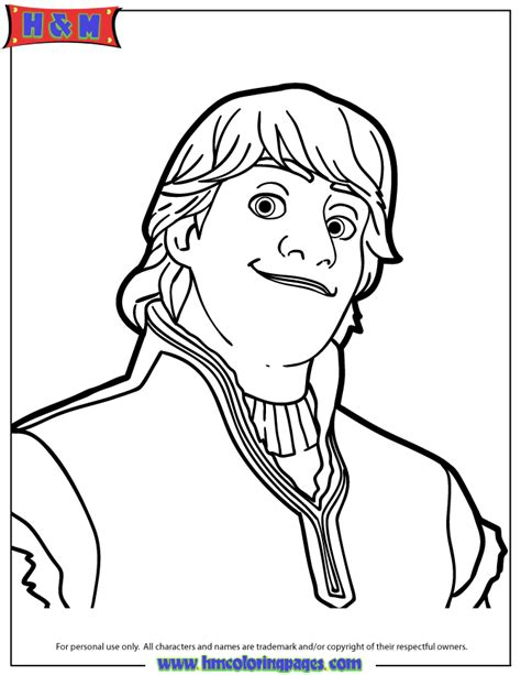 frozen coloring pages kristoff free coloring pages of sven and kristoff frozen