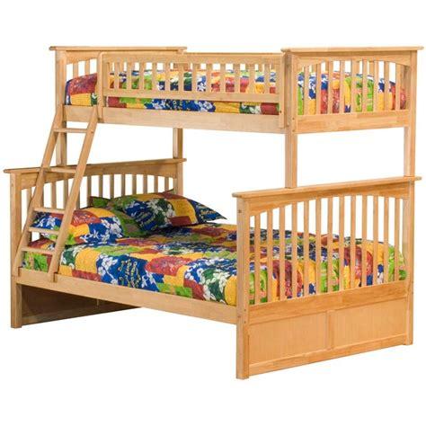 atlantic furniture columbia twin over full bunk bed kids storage beds at hayneedle atlantic furniture columbia twin over full bunk bed in natural ab55205