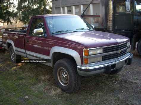 1993 chevrolet truck 1993 chevy k2500