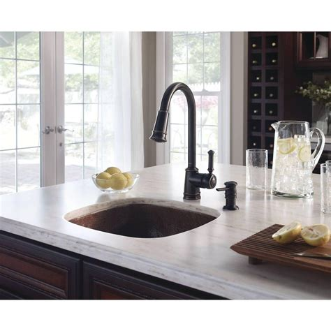 Moen Lindley Kitchen Faucet by Moen Faucet Lindley Ca87012srs