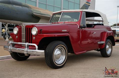 jeep jeepster 1949 willys overland jeepster