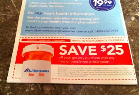 Gift Card For New Prescription - albertsons get a 25 gift card with new or transferred prescription