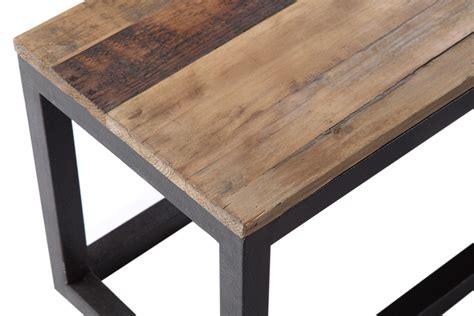 banc en metal banc en bois et m 233 tal industriel bc01